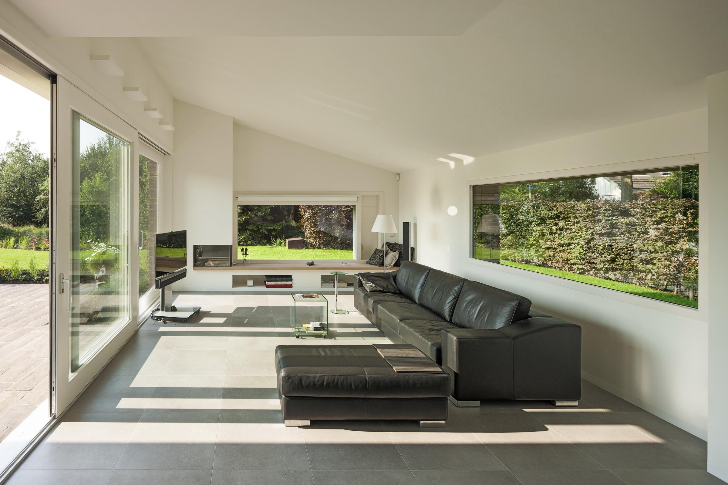 Baksteenhuis groenekan zecc architecten - Trap binnen villa ...