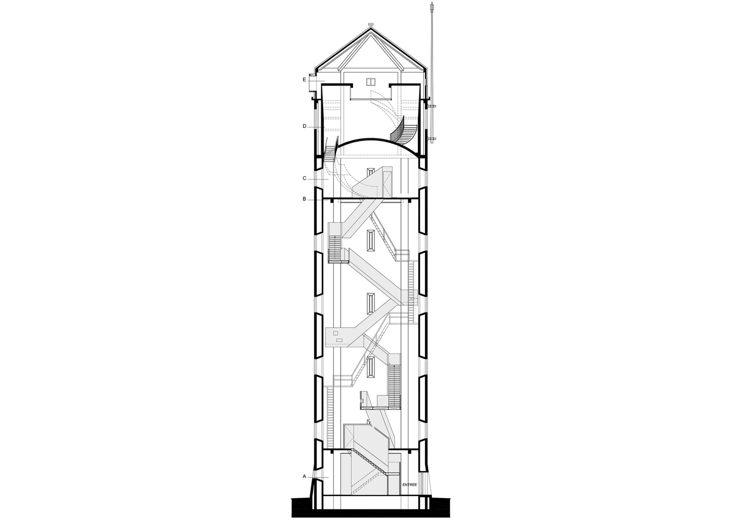 Water Tower Sint Jansklooster Zecc Architecten